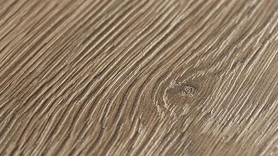 Detail laminované dřevotřískové desky