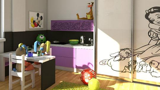 Pěkný nábytek do dětského pokoje