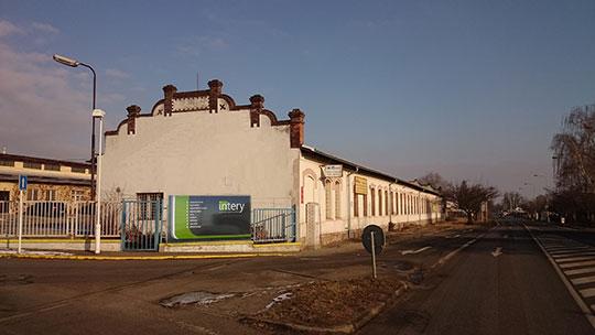 Výrobní prostory společnosti intery-nabytek, s.r.o.