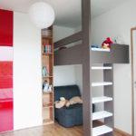 Pokoj pro studenty s patrovou postelí